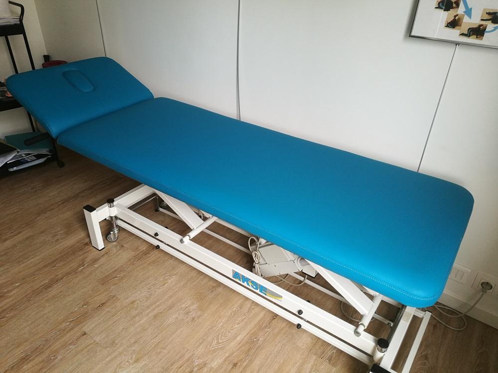Rénovation table de kinésithérapeute