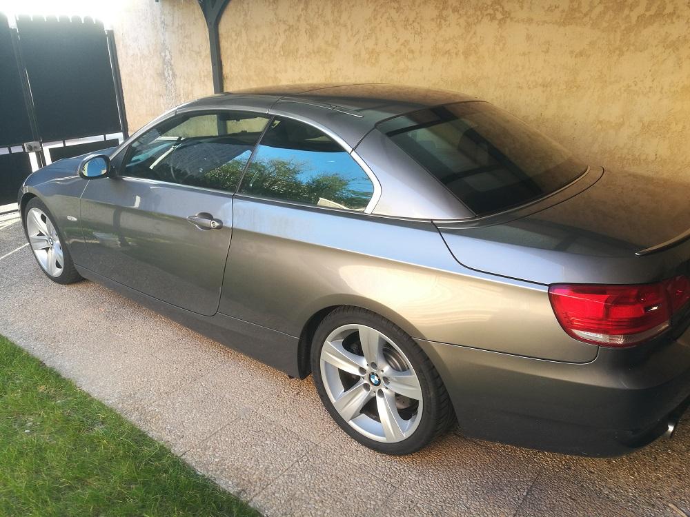 BMW E93 adaptations morphologiques du siège conducteur pour un meilleur maintien et suppression des sciatiques