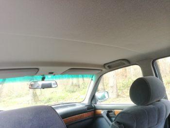 Remplacement tissu ciel de toit BMW 735 RC Sellerie