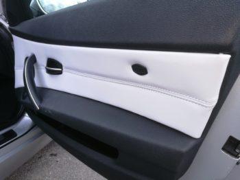 Remplacement des panneaux de portes en cuir BMW Z4 RC Sellerie