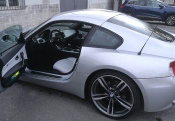 BMW Z4 : remplacement de la sellerie cuir RC Sellerie