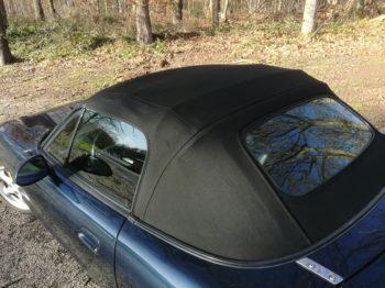 Changement capote Alpaga Mazda MX5 RC Sellerie