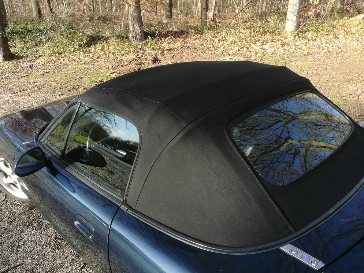 Changement capote Alpaga Mazda MX5