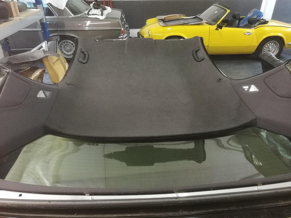 Changement du ciel de toit sur Cabriolet E46