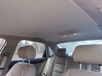 Audi A4 V6 TDI : Remplacement du ciel de toit par RC Sellerie RC Sellerie