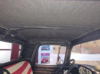 Pose d'un isolant phonique et thermique végétal sur pavillon - Pick UP Ford US F100 par RC Sellerie RC Sellerie