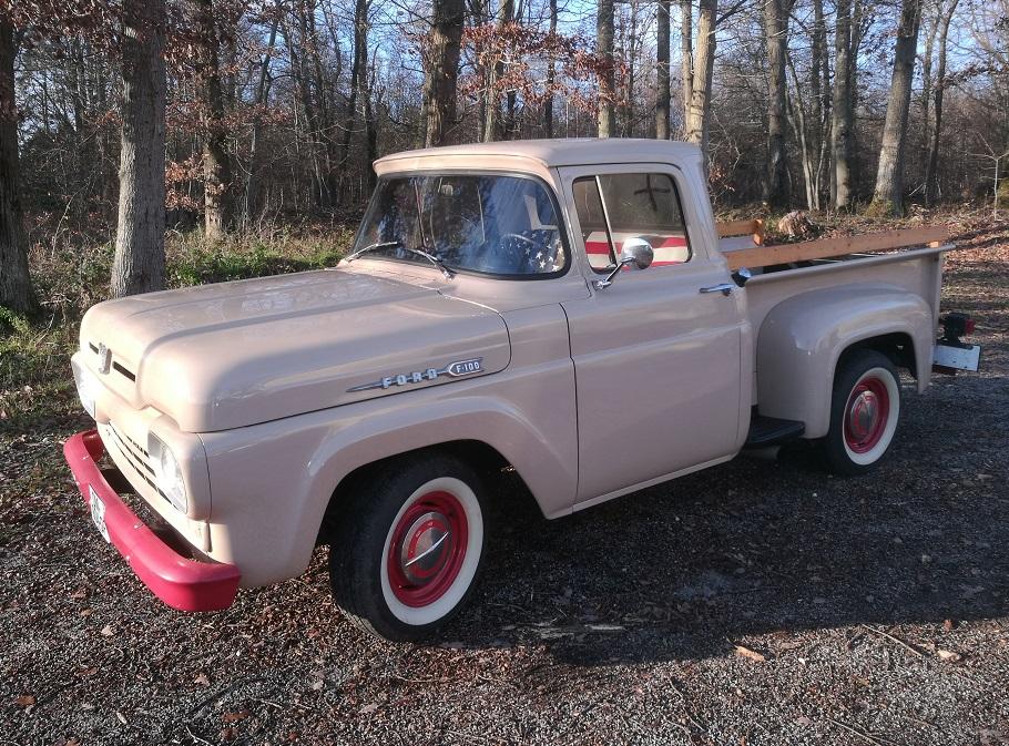 Rénovation sellerie Pick Up Ford US F100 de 1960 par RC Sellerie